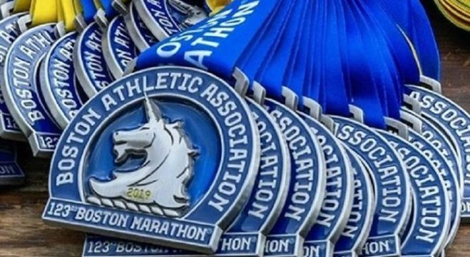 As medalhas de 2019, sempre com o unicórnio