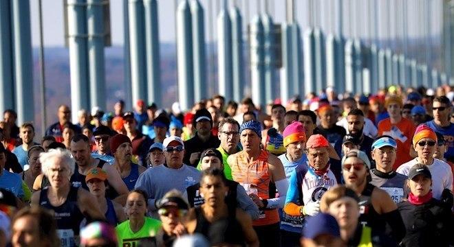 Maratona de Nova York está no circuito das mais importantes do mundo