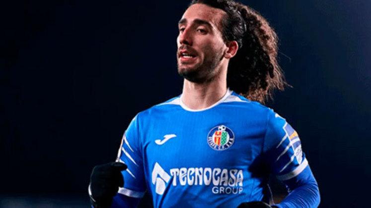 Marc Cucurella, misto de meia e lateral-esquerdo, de 22 anos, foi negociado pelo Barcelona com o Getafe para liberar espaço no elenco.