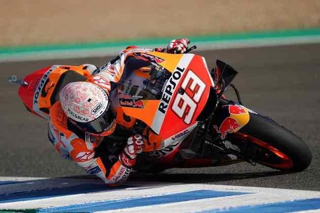 Marc Márquez se colocou como o mais rápido do TL1 (Foto: Repsol)