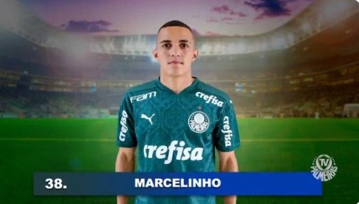Marcelinho (18 anos - atacante): Tem duas partidas como profissional do Palmeiras e foi lançado por Abel Ferreira.