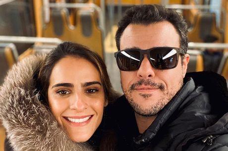 Marcella Fogaça e Joaquim Lopes serão pais de gêmeas