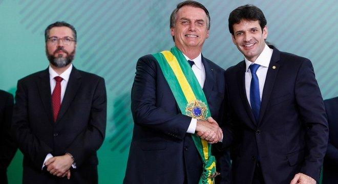 Antes de entrar para o governo, ministro comandou o PSL em Minas Gerais durante a campanha eleitoral