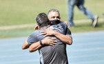 Marcelo Cabo, Marcelo Chamusca, Botafogo x Vasco,