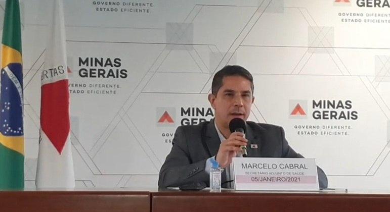 Secretário adjunto Marcelo Cabral reforçou pedido de distanciamento social