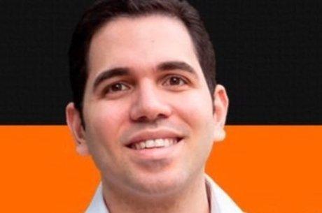Na imagem, candidato a vereador Marcelo Castro