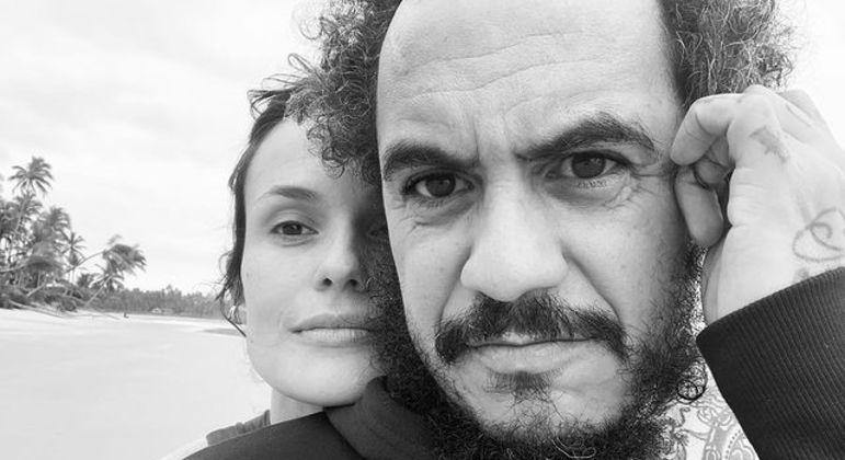 Marcelo D2 é casado com a produtora  Luiza Machado