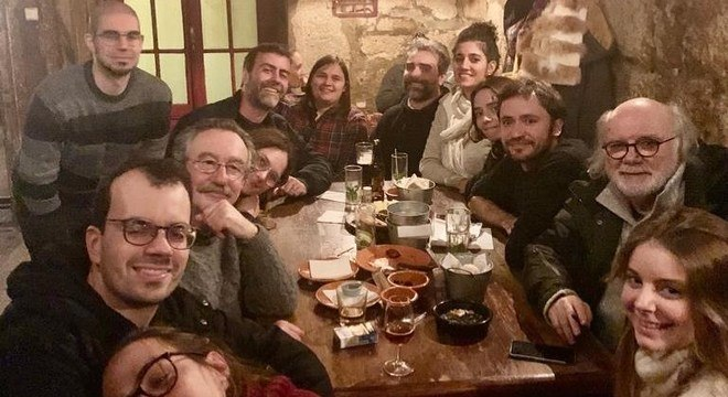Freixo em Portugal com amigos