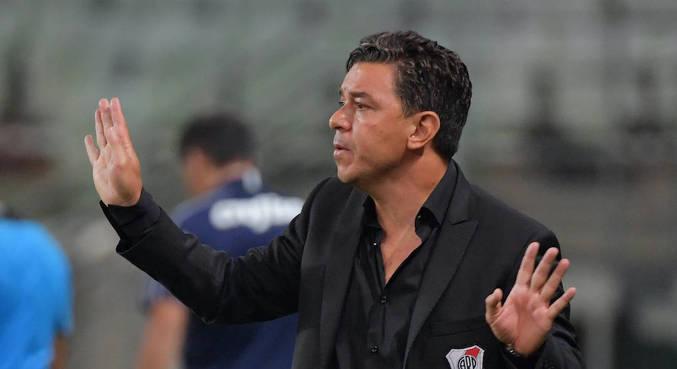Marcelo Gallardo deixou em aberto seu futuro no River Plate