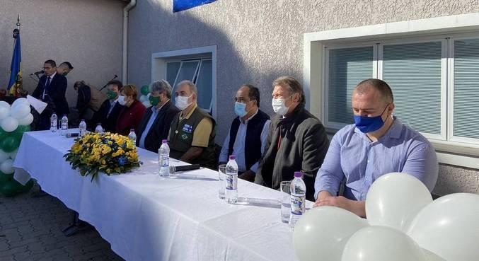 O ministro da Saúde Marcelo Queiroga participou de inauguração de UBS no RS