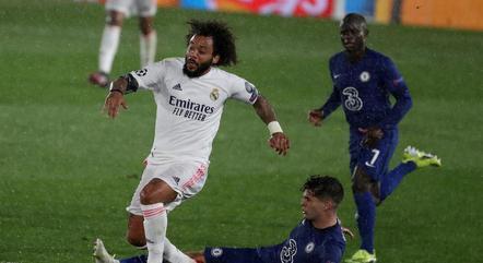 Marcelo pode desfalcar o Real contra o Chelsea
