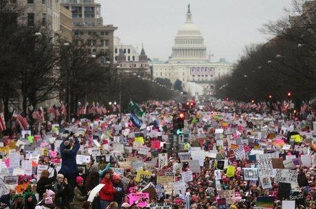 Protestos são grandes em cidades como Washington