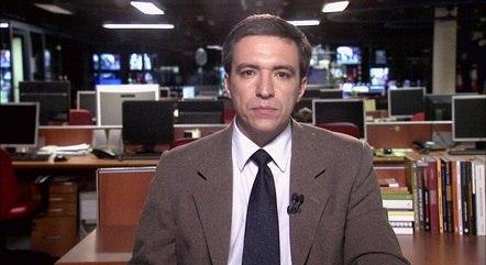 Márcio Campos, repórter e apresentador da Band