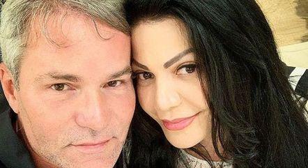 Márcio e Simone Poncio estão juntos há 27 anos