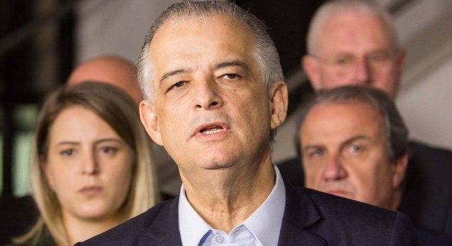 Governador Márcio França (PSB) diz que São Paulo  volta a ter 'certa normalidade'