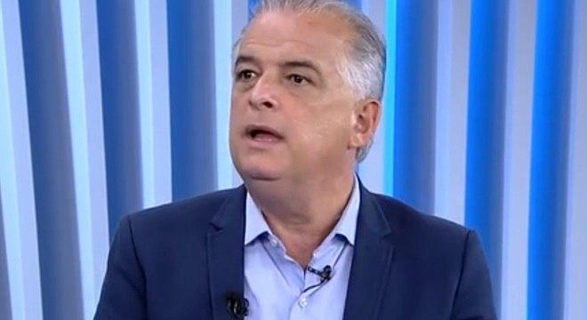 Márcio França deu entrevista ao Balanço Geral