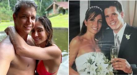 Marcio Garcia e Andrea estão juntos há 20 anos