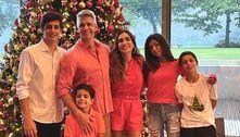 Marcio Garcia dedica Natal ao pai, morto por covid-19