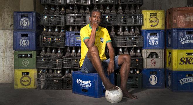 Marco Antônio. Tricampeão mundial. Fez 52 jogos pela Seleção Brasileira