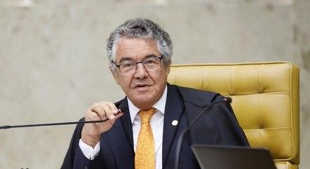 Na imagem, ministro Marco Aurélio Mello (STF)