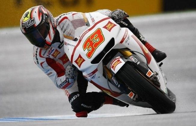 Marco Mellandri correu pela Gresini Honda