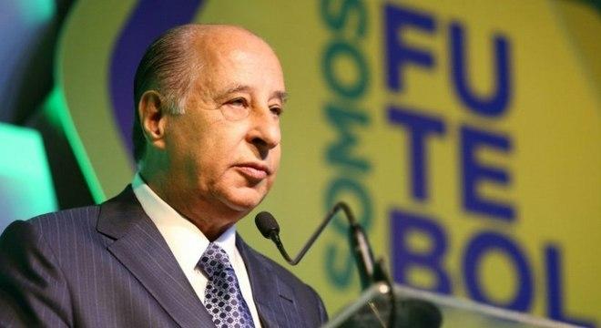 Del Nero foi banido pela FIFA de todas as atividades relacionadas ao futebol