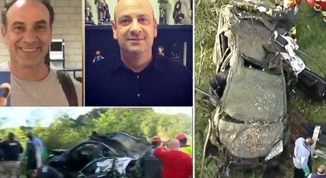 Carro do irmão de Marco Ricca foi achado com uma ossada dentro