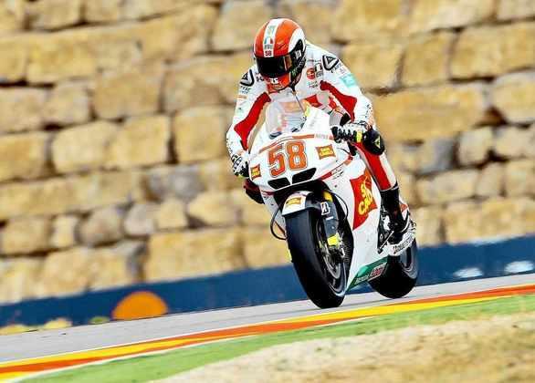Marco Simoncelli estava em sua primeira temporada na MotoGP