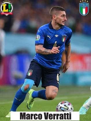 Marco Verratti – 6,0 – Fez uma boa partida, mas assim como na semifinal, contra a Espanha, foi substituído na prorrogação.