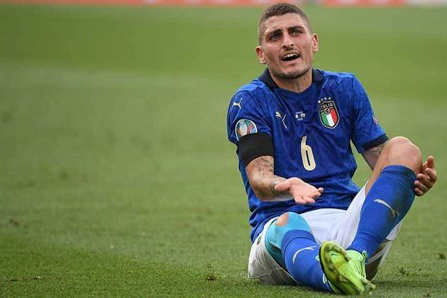 Marco Verratti - PSG - Meio-campista - 28 anos - 55 milhões de euros (R$ 328 mi) - Contrato até 30/06/2024