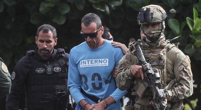Marcola deixa o Hospital de Base do Distrito Federal, onde passou por exames