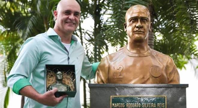 Marcos é um dos raros jogadores que ganharam estátua no Palmeiras