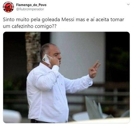 Marcos Braz já está em contato para levar o argentino para o Flamengo