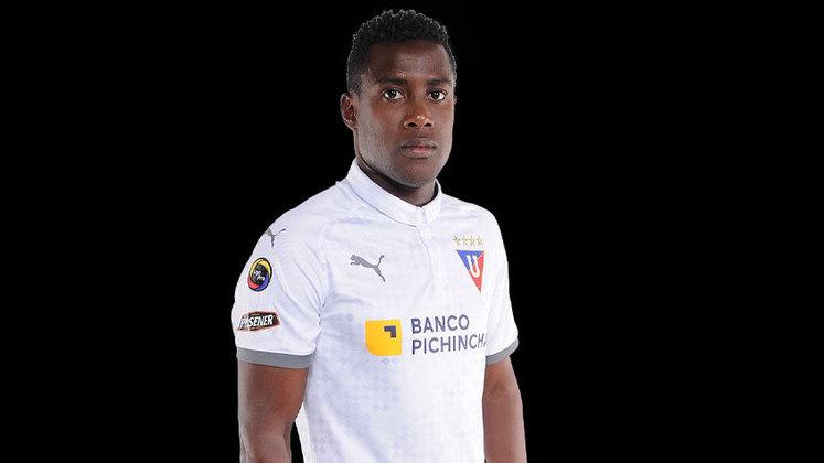 Marcos Caicedo – O camisa 17 é uma das armas da LDU. O time equatoriano recebe o Santos, nessa terça-feira (24), às 19h15, pelas oitavas da Libertadores.