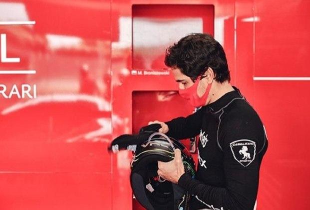Marcos Gomes participa de sua primeira 24 Horas de Le Mans