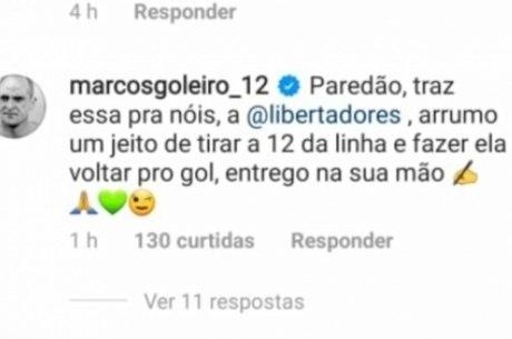 Marcos Instagram Palmeiras