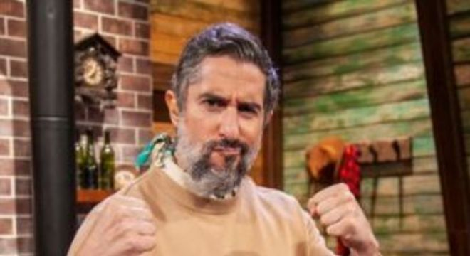 Marcos Mion. Foto: Edu Moraes/Record TV