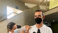 Marcos Pasquim celebra vacinação: 'Um passo perto do abraço'