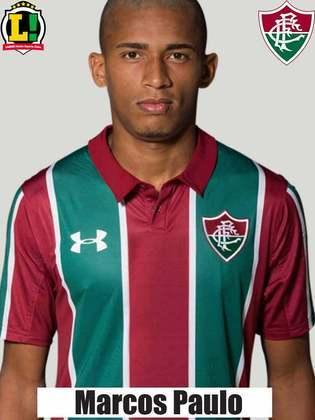 MARCOS PAULO - 5,0 - O atacante arriscou algumas jogadas individuais na ponta esquerda, mas não teve sucesso nas investidas. Errou passes bobos e demorou a entrar no jogo. Acabou sendo substituído por Luiz Henrique no intervalo.