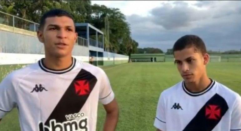 Marcos Paulo e Gabriel Paz - Vasco Sub-20