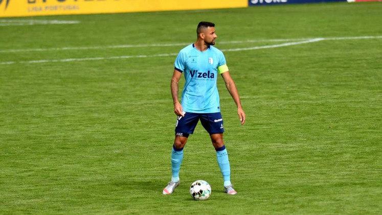 Marcos Paulo: o meia do Vizela marcou os dois gols no empate da equipe no Campeonato Português, diante do Gil Vicente.