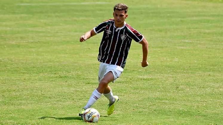 Marcos Pedro - 19 anos - lateral-esquerdo - contrato com o Fluminense até 31/12/2022