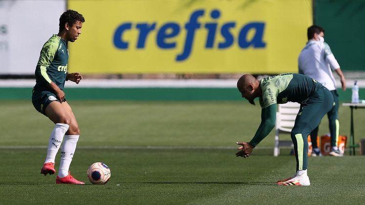 Marcos Rocha e Felipe Melo