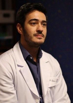 Marcos Veras, dr. Leo no cinema