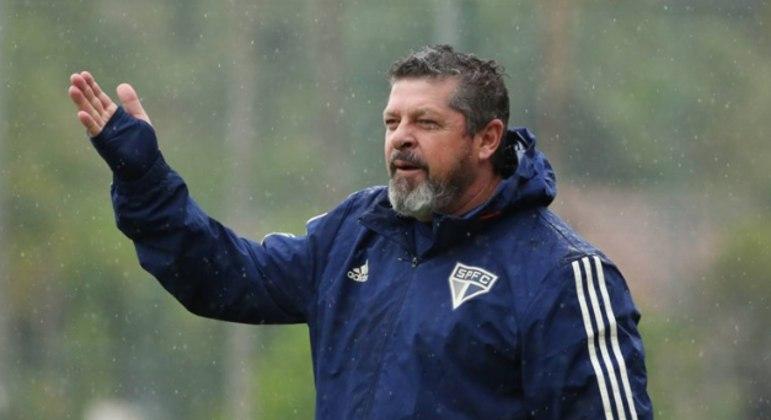Marcos Vizolli fazia parte da comissão técnica fixa do São Paulo