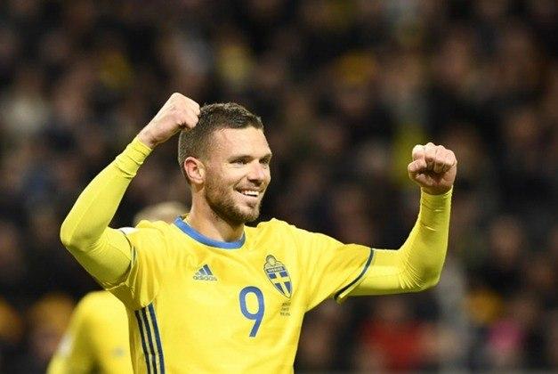 Marcus Berg, atacante da seleção sueca, tem 34 anos e contrato com o FK Krasnodar, da Rússia, até junho de 2021.