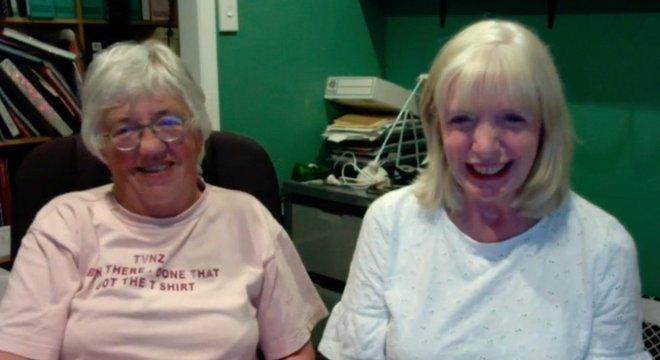 Margaret e Sue conversaram com a BBC pelo FaceTime de Auckland, na Nova Zelândia