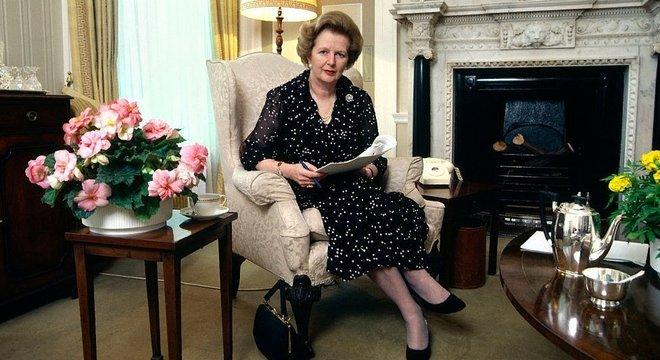 Margaret Thatcher foi primeira-ministra do Reino Unido entre 1979 e 1990