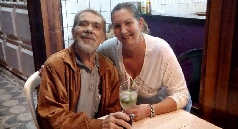 Mário e Margaret Serrão em dia de passeio