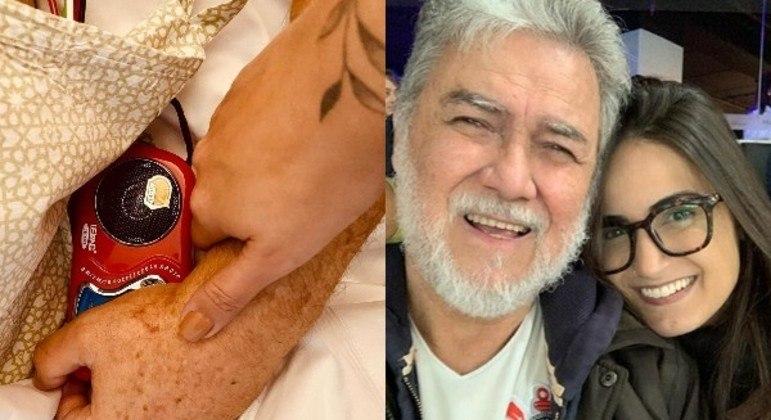 Apresentadora de TV publicou texto em homenagem ao pai, morto após luta contra câncer